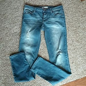 Girls Distressed RSQ Skinny Jeans sz 14